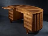Schreibtisch ARTS mit Leder 212x98x89